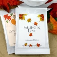 Personalized Autumn Wedding Cocoa (Many Designs)