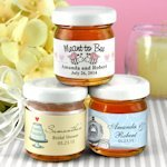 Personalized Honey Jar Wedding Favors (Many Designs)