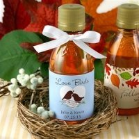 Personalized Maple Syrup Wedding Favors (Many Designs)