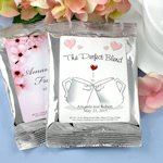 Personalized Wedding Coffee Favors - Silver (Many Designs)