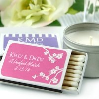 Summer Personalized Match Wedding Favors (Set of 50)