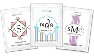 Monogram Cappuccino Favors (30 Designs) image