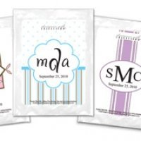 Monogram Cappuccino Favors (30 Designs)