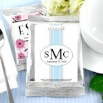 Monogrammed Coffee Favors - Silver (Many Designs)