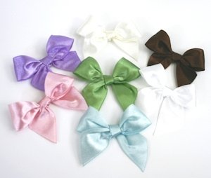 Satin Bows (Set of 12) image