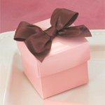 Pink Mini Favor Boxes (Set of 12)