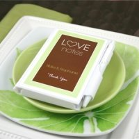 Personalized Love Notes Notebook Favors