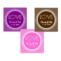 Love Personalized Wedding Tags and Labels (Set of 20)