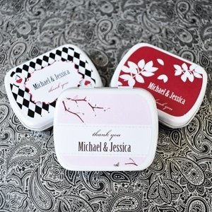 Elite Designs Personalized Wedding Mint Tin Favors image