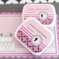 Customized Bridal Shower Favors - Candy or Mint Tins