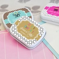 Birthday Designs Personalized Mint Tin Favors