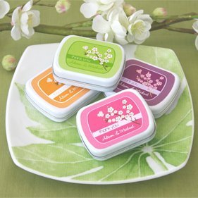 Cherry Blossom Favor Tins image