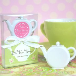 Tea Time Tape Measure Favors image