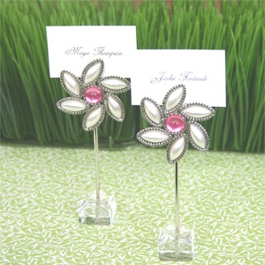 Blooming Love Flower Place Card Holders (Set of 12) image