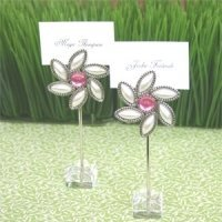 Blooming Love Flower Place Card Holders (Set of 12)