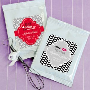 Sweet Love Personalized Lemonade Wedding Favors image