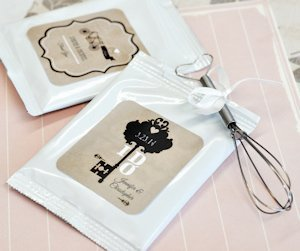 Vintage Wedding Personalized Lemonade Packets image