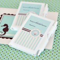 Personalized Notebook Beach Theme Party Favors