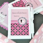 Wedding Shower Personalized Notebook Favor