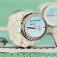 Personalized Candy Jars - Beach Party Favors