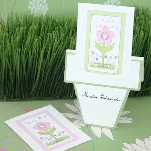 Flowers in Bloom Wedding Seed Packets image