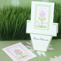 Flowers in Bloom Wedding Seed Packets