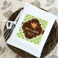 Fall for Love Personalized Hot Cocoa Favors