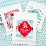 Winter Holiday Personalized Hot Cocoa Favors