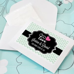 Tears of Joy Personalized Tissue Favors image