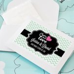 Tears of Joy Personalized Tissue Favors