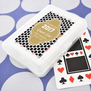 Personalized Graduation Favors - Playing Cards image