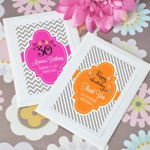 Personalized Birthday Wildflower Seed Favors image