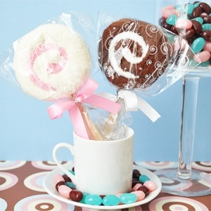 Lollipop Towel Favors image