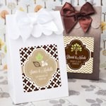 Personalized Fall Candy Shoppe Favor Boxes (Set of 12)