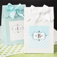 Mod Monogram Candy Favor Boxes (Set of 12)