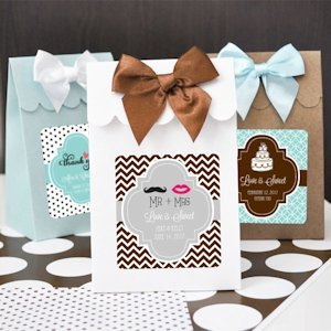 Personalized Theme Candy Shoppe Favor Boxes (Set of 12) image