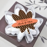 Fall for Love Leaf Favor Boxes