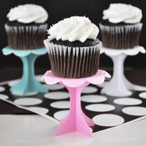 Creative Cupcake Pedestals (Set of 12) image