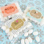 Personalized Jelly Bean Wedding Favors