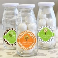'Fall for Love' Personalized Milk Bottles