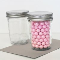 DIY Blank Mini Mason Jars
