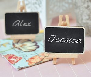 Chalkboard Place Cards image