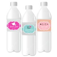 Water Bottle Labels for Weddings