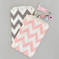 Chevron & Dots Goodie Bags (Set of 12)