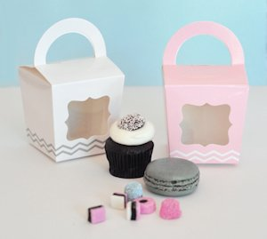 Cupcake 'n' Treats Tote Boxes (Set of 12) image
