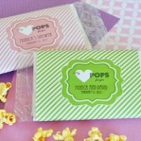 'My Heart POPS for You' Microwave Popcorn Wedding Favors