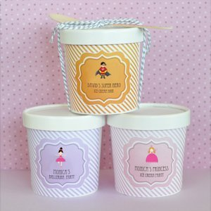 MOD Kid's Birthday Mini Ice Cream Containers image