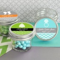 MOD Pattern Theme Mini Mason Jars - 4 oz.