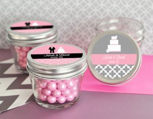 Theme Mini Mason Jars - 4 oz. image