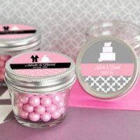 Theme Mini Mason Jars - 4 oz.